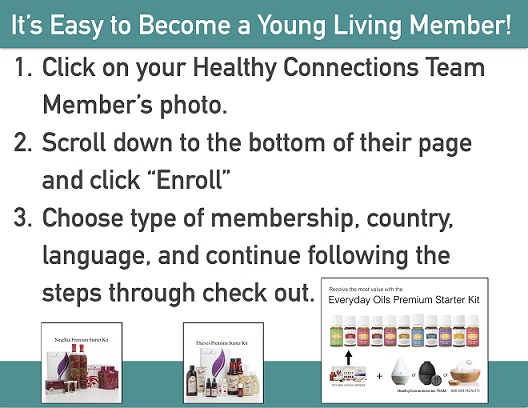 1. Click your Healthy Connections team member photo. 2. Click Enroll on the bottom of their page. 3. Follow the prompts.